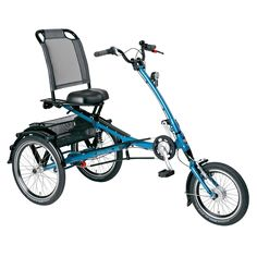 Stylish and comfortable, this PFIFF tricycle features everything you need to cruise around town in style. Made from solid steel with a sturdy tig welded frame, this exceptional trike features a large