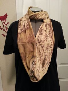 Hey, I found this really awesome Etsy listing at http://www.etsy.com/listing/150802198/skyrim-map-infinity-knit-scarf-made-to