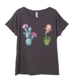 Womens Boho Vintage CACTUS Southwest Festival Shirt Trendy Yoga Tumblr Shirt Tee Top Retro Cotton Fashion Short Sleeve Tshirt S M L XL  ****THIS IS