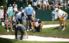 There are specific things you can and can't do when you find yourself bunkered