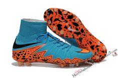 65d4873f5d9 2015 Nike Hypervenom II Phantom Premium FG Soccer Boots blue orange black