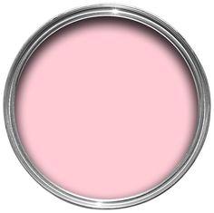 Colours Pink Matt Emulsion Paint 2.5L | Departments | DIY at B&Q
