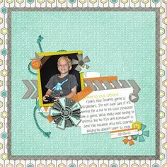 Simple Scrapbook Storytelling by SuzyQ Scraps » Simple Scrapbook Page Ideas | Scrapbooking with Chevrons