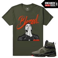 6a36e43fea07 Jordan 8 Take Flight Shirts Match Sneakers