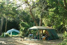 snorkeling in Kenya | Cape Vidal offers ideal camping spots.