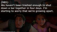 Disney Gents from Last Night. It's so sad when friends grow apart.