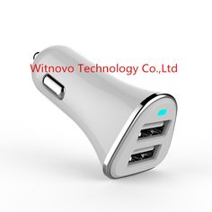 High-end luxury 2.4A dual USB car charger.  --Witnovo Technology Corporation Limited --Henry He --Email: henry@witnovo.com --Skype: henry-witnovo --Mob: 86 18813869794 --Web: www.witnovo.com