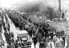 Detention of jews after the progrom night of 9./10. november 1938, Baden-Baden via reddit [[MORE]] source