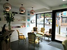 Malcolm Hurphy Hair: Interiors Inspiration. LOVE LOVE LOVE the lamps!