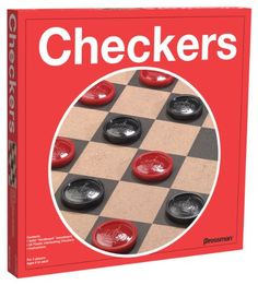 """Checkers----USUALLY THIS WAS A QUICK GAME TO PLAY, HOWEVER MY SON DID TAKE HIS """"TIME"""" TO CACULATE HIS AND HIS OPPONENT'S MOVE FAR IN ADVANCE---MEMORIES---"""
