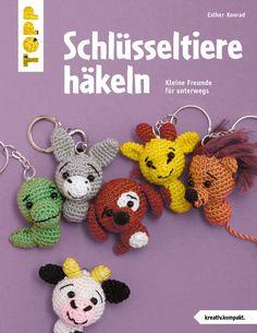 Schlüsseltiere häkeln (kreativ.kompakt.)   Konrad, Esther