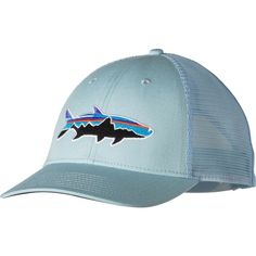 f51c1e61fc9 Patagonia Fitz Roy Tarpon LoPro Trucker Hat ( 29) ❤ liked on Polyvore  featuring accessories