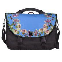 Honeysuckle Vine Flowers Floral Laptop Bag