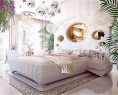 Luxury Bedroom Interior Design That Will Make Any Woman Drool - RooHome | Designs & Plans