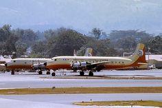 Douglas DC-6 c/n 43108 TG-APA, Aviateca | Flickr - Photo Sharing! Mcdonald Douglas, Douglas Aircraft, Guatemala City, Airports, Spacecraft, Central America, Airplanes, Panama, Birds