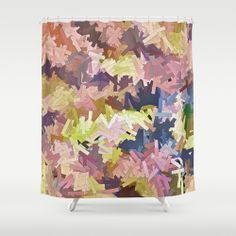 Color Stacks Shower Curtain by Nirvana.K | Society6