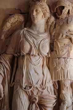 Carthage Byrsa Musee National - Tunisia. Bas Relief De La Victoire.