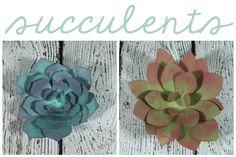 Flower Market's EASY 3D flowers
