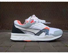 PUMA TRINOMIC XT1 PLUS GRAY DAWN-WHITE