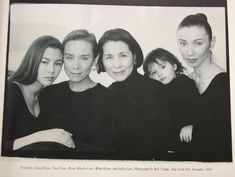 Tina Chow and her family
