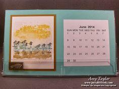 Just a Little Ink: Desktop Calendar-Stamping Escape
