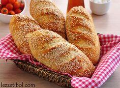 Susamlı Sandviç Ekmeği   Lezzetibol