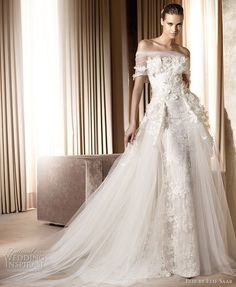 Elie Saab wedding gown 2011 -  Minerva bridal gown, Pronovias collection