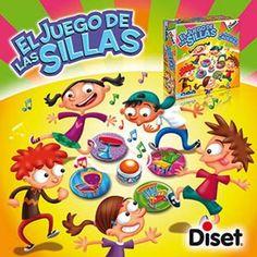 Juguete JUEGO DE LAS SILLAS de Diset Precio 18,97€ en IguMagazine #juguetesbaratos