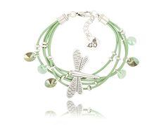 #bydziubeka #new #bracelet #dragonfly #colorful #summer #jewelry