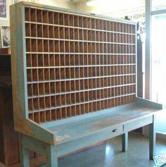 Old postal sorter---