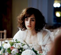 Lily Collins as Rosie. (Love, Rosie)