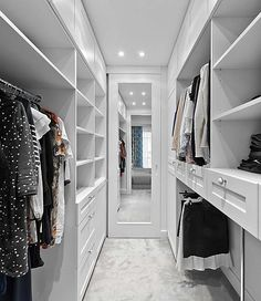 White wardrobe ideas bedroom closet design, walk in closet design, master. Closet Walk-in, Bedroom Closet Storage, White Closet, White Wardrobe, Bedroom Closet Design, Master Bedroom Closet, Girl Closet, Small Wardrobe, Master Suite