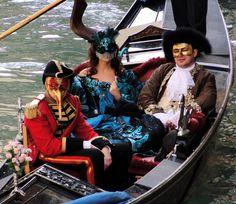 Venezia Carnevale Masks in Gondola | o.p.elbs | Flickr