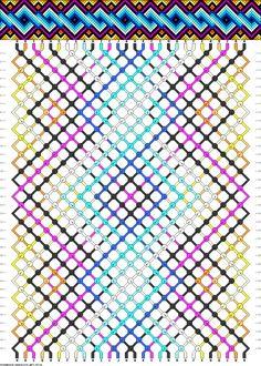 How To Make Alphabet Friendship Bracelets - Embroidery Patterns String Bracelet Patterns, Embroidery Bracelets, Macrame Bracelets, Diy Bracelets Video, Diy Friendship Bracelets Patterns, Colorful Bracelets, Bracelet Tutorial, Cross Stitch Designs, Bracelet Designs