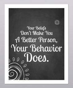 'A Better Person' Print