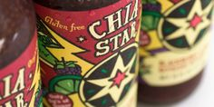 Chia Star, design with a hand drawn look
