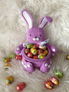 Gehaakte paashaas #crochet easter bunny