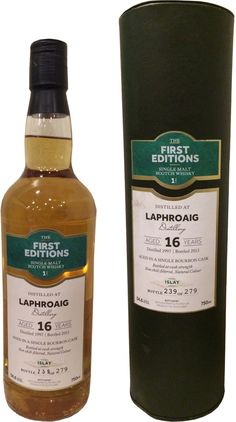 The First Editions Laphroaig 16 Year Old Single Malt Cask Strength #Scotch Whisky
