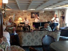 Great music in the Main Deck Lounge