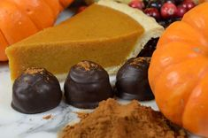 Holiday Gifts, Chocolate Truffles, Pumpkin Spice, Dark Chocolate, Chocolate, Truffles, Halloween, Thanksgiving, Hostess Gifts by Napa Valley Chocolate Company
