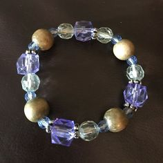 Light Purple Stretchy Bracelet