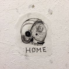 home is where you hang yourself #flashwork #cosmonaut #astronaut                                                                                                                                                      More
