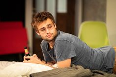 Douglas Booth speaks to Gay Times about the political themes of A Guide for the Homesick and why it's harder for LGBTQ actors in the industry. Douglas Booth, Poster Boys, Playwright, Patriarchy, Stick It Out, Buy Tickets, The Conjuring, Thriller, Sexy Men
