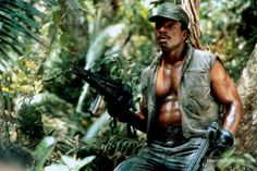 A gallery of Predator publicity stills and other photos. Featuring Arnold Schwarzenegger, Carl Weathers, Kevin Peter Hall, Sonny Landham and others. Predator Movie, Alien Vs Predator, Predator Arnold, Arnold Schwarzenegger, Gi Joe, Weather Jokes, Science Fiction, Last Action Hero, Jesse Ventura