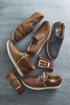Step Up Your Game: Casual shoes crafted with the same care and premium materials as our dress shoes.