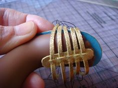 Strappy sandal for a doll, made with care and precision