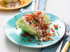 The Fully Loaded Iceberg Wedge Salad