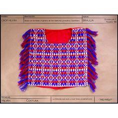 Nuevo crop #hilvan con flecos bordado a mano por Braulia originaria de San Ildelfonso en #Amealco , #Querétaro.  Ya pueden encontrarlo en nuestra tienda en línea #kichink  www.kichink.com/stores/recrear #hechoamano #handmade #bordado #embroidery #comerciojusto #fairtrade #modaetica #eticfashion