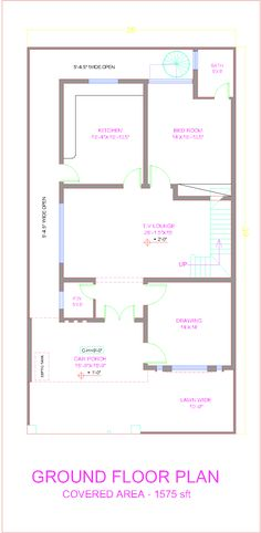Captivating 10 Marla House Plan Layout , 10 Marla House Maps In Pakistan