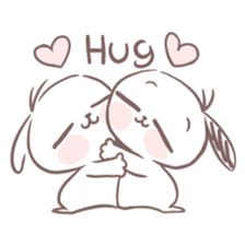 line sticker png marshmallow puppies Cute Love Cartoons, Cute Cartoon, Doodles Bonitos, Memes Lindos, Cute Bear Drawings, Cute Doodles, Cute Chibi, Line Sticker, Cute Bears